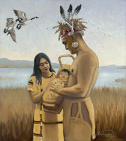 The Birth of Kateri - Spring 1656